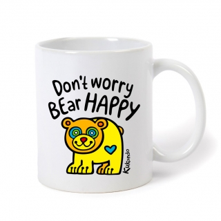 Hrnek DON'T WORRY BEAR HAPPY