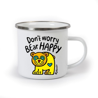Plecháček DON'T WORRY BEAR HAPPY